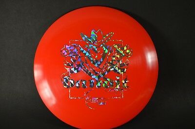 Bandit Icon 1st Run 175g  Red w/Prism Stamp Legacy New *Prime* Disc Golf Rare