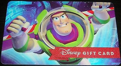 DISNEY GIFT CARD - Buzz – Out of this World - NO CASH VALUE