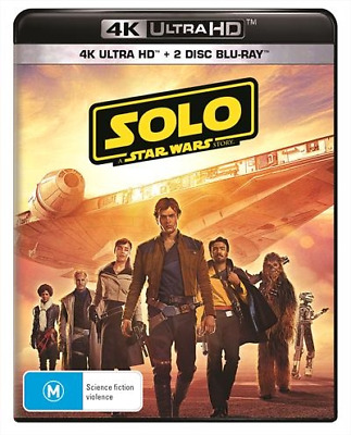 Solo - A Star Wars Story 4K Ultra HD : NEW UHD Blu-Ray
