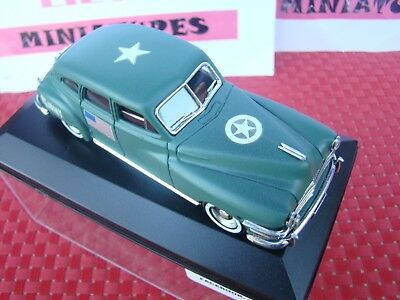 Chrysler Windsor 1948 1/43 Metal Transformation Militaire Cdt Americain