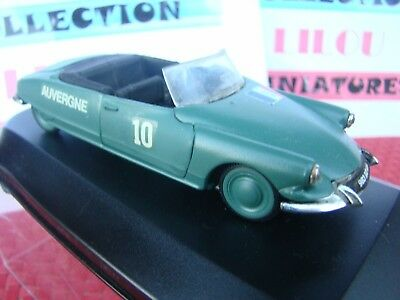Citroen Ds Decapotable 1/43 Metal Transformation Militaire Cdt Francais