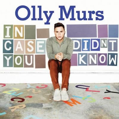 OLLY MURS IN CASE YOU DIDN'T KNOW CD Album MINT/MINT/MINT