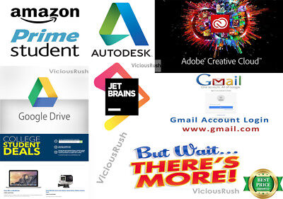 EDU Email FREE 6 Months Amazon Prime free shipping +Google Drive Fast Delivery