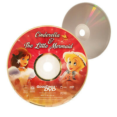 (Nearly New) RARE Cinderella / The Little Mermaid GoodTimes DVD - XclusiveDealz