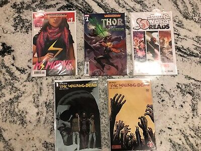 The Walking Dead and Other Comics Grab Bag