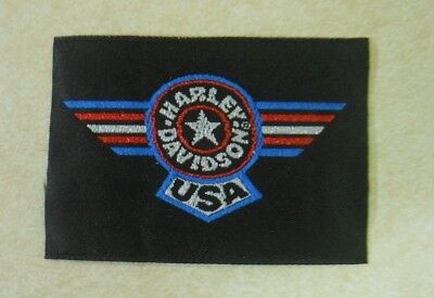 Harley Davidson Iron on / Patch, never used