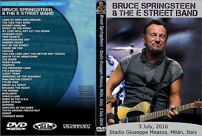 Bruce Springsteen. 2016. Milan First Night. 3Th Day. Dvd.