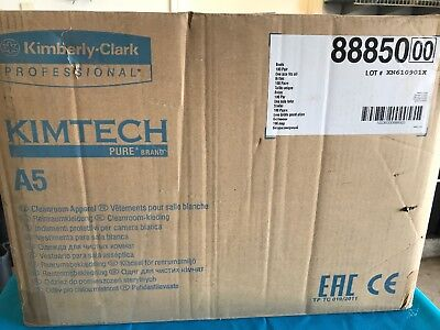 Kimtech Pure A5 Boots With Ties 100 Pack 88850