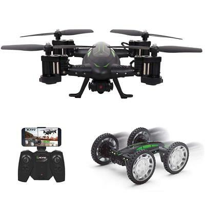 RC Drone with 720P HD Camera, Rolytoy Remote Control Car for Kids Toy Live...