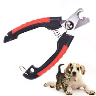 Professional Pet Dog Nail Clippers Cutter Stainless Steel Grooming Scissors