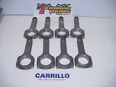 "8 Carrillo 6.00"" H-Beam Connecting Rods 2.100"" Large Journal SB Chevy  J11"