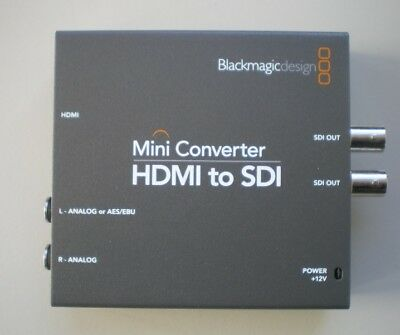 BLACKMAGIC DESIGN HDMI to SDI video converter