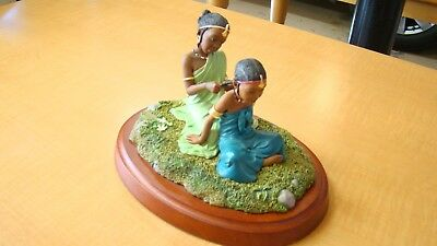 "Thomas Blackshear's Ebony Visions ""Sisters Forever: In Childhood"" Figurine"