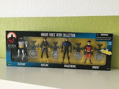 New adventures of Batman Knight Force Hero Collection Batgirl Robin Animated