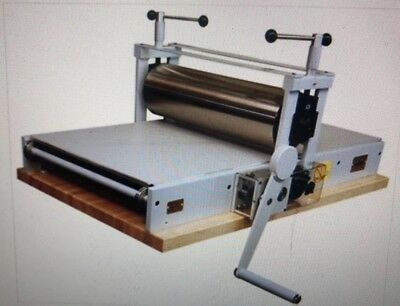 """Takach Press 2436 Table Top Etching Press With 7.5"""" Large Upper Drum"""
