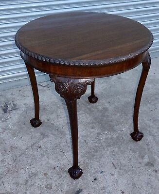 Circular Mahogany Occasional Table, nationwide delivery