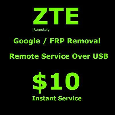 ZTE Google / FRP  Account Lock Removal