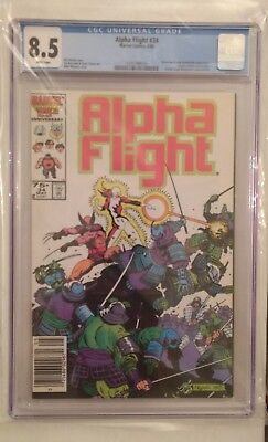 Alpha Flight #34 (CGC 8.5), recently graded