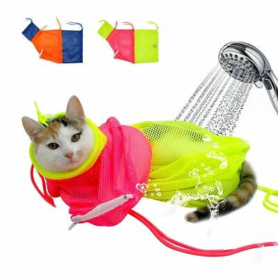 Medicine Injecting Cat Bath Bag Kitten Wash Supply Pet Nail Trimming Tool