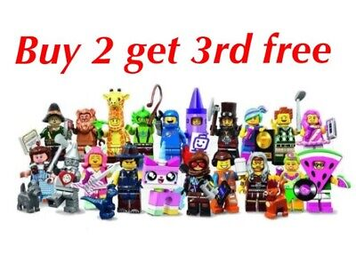 Lego Minifigures 71023 The Lego Movie 2 Series New (Choose Your Minifigure)