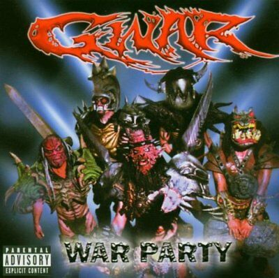 GWAR - War Party - CD - **Excellent Condition**