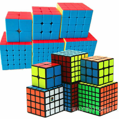 2019 MYMF 2X2 3X3 4X4 5X5 6X6 7X7 8X8 9X9 Speed Magic Cube Twist Puzzle Toy Gift