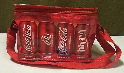 Coca Cola Beijing 2008 Olympic Games Cooler Bag Coke Can Bag