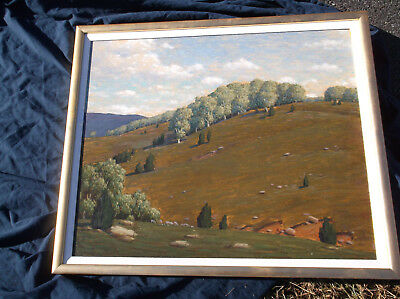 Andrew T Schwartz. American Landscape,OIl Painting,Kentucky,New England Interest