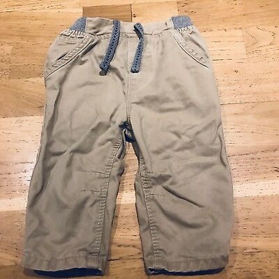 0-3 months boys Trousers Chinos Beige