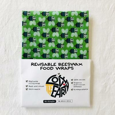 'Bees' XL Size Beeswax Food Wrap
