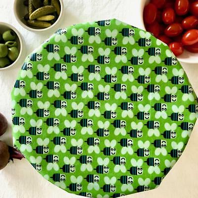 'Buzzy Bees' LARGE Size Beeswax Food Wrap