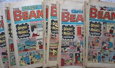 Beano Comics 1982 x 29  Dennis The Menace etc