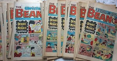 Beano Comics 1984 x27 Dennis The Menace etc DC Thomson