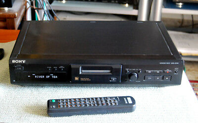 Sony Mini Disc Deck -Mds-Jb330- With Remote-Immaculate