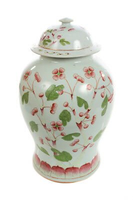 Chinese Beautiful 19th century Porcelain Ginger Jar