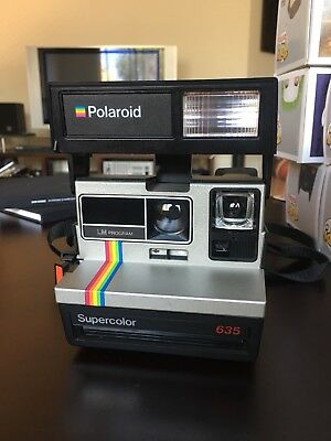 Polaroid Supercolour 635 *used* Good Working Condition