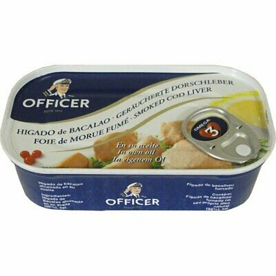 Bornholms Officer Smoked Cod Liver 120g