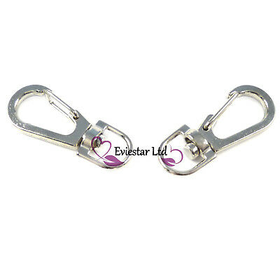 Lobster Clasps Swivel Trigger Clips Snap Hooks 38mm Jewelry Findings RAB