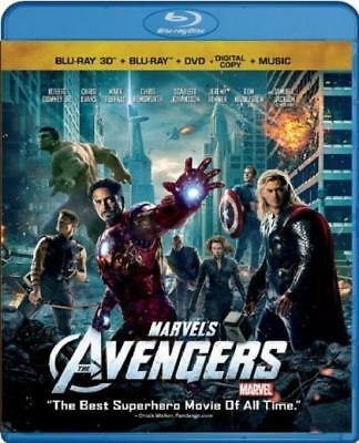 Marvel's The Avengers (4-Disc + Music Download) [Blu-ray 3D + Blu-ray + DVD...