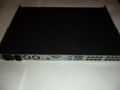 HP 408965-002 16 Port Virtual Media KVM over IP switch TESTED 4x1x16 with Cables