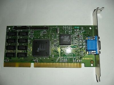 Trident TVGA8900D-R ISA Video card. 1MB RAM. Trident TVGA8900D-R chipset