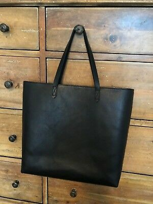 MADEWELL ZIP TOP Transport Leather Tote -  175.00  cd67eab2b2e9a