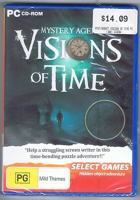 Hidden Object PC Game | Mystery Agency Visions of Time | PG Rating