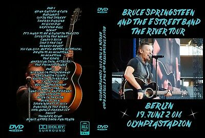 Bruce Springsteen. 2016. Berlin. Germany. 2 Dvd.