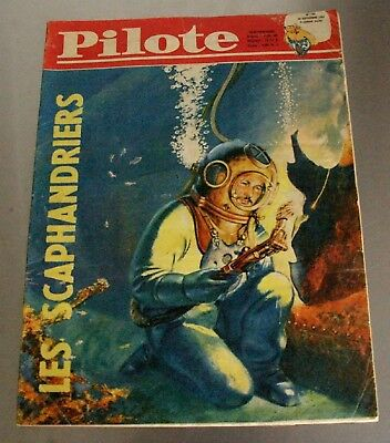 PILOTE - N. 101 - 1961 - LES SCAPHANDRIERS, Le Grand Nord, Dynamyte Jack