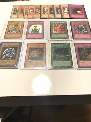 Yugioh card lot collection Holos W Sleeves Blue Eyes