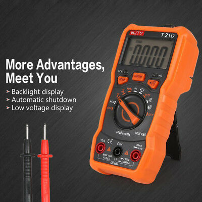 Protection LCD  Non Contact Tester Meter Tool  Digital Multimeter T21D Ammeter