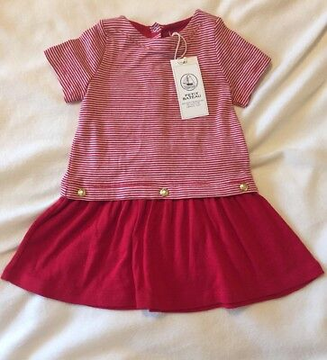 Girls' Clothing (newborn-5t) Clothing, Shoes & Accessories Dress Baby Girls Dress Age 24 Months bimbus Red White Navy Silver Bnwt