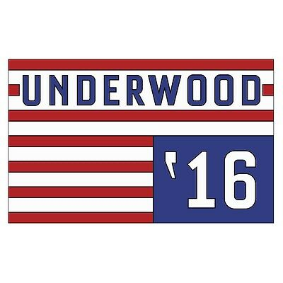 Frank Underwood 2016 Limited Edition Collectible Pin | House of Cards Netflix