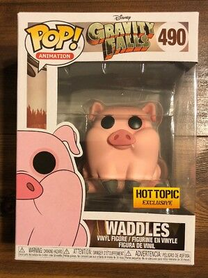 Funko Pop Disney  Gravity Falls Series Waddles Hot Topic Exclusive